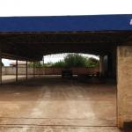 Construção do centro de logística municipal