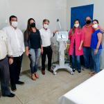Hospital Municipal Dr. Amadeu Pagliuso passa a contar com equipamento de ventilação mecânica de grande porte