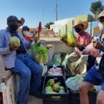 CRAS e Secretaria de Assistência Social realiza entrega da quinta remessa de cestas do PAA
