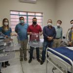 Jaborandi é contemplada com 02 ventiladores pulmonares produzidos pela USP