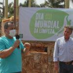 JABORANDI PARTICIPA DA 4ª EDIÇÃO DO DIA MUNDIAL DA LIMPEZA
